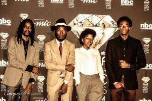 Photo moments at the Namibian Annual Music Awards with Lukas, Loux & Hidipo