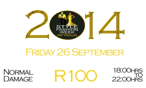 SFWA 2014 Tickets FRIDAY Normal Damage R100