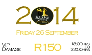 SFWA 2014 Tickets FRIDAY Vip Damage R150