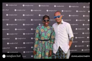 At MBFWAfrica with Rashiky