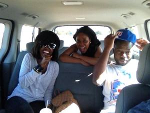 Headed to Swaziland with Fifi and Kulani