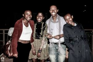Auditioning for a tooth paste commercial during photo moments at theStyle Fashion Week Africa Launch. Great smiles from Zah, Xabiso and Proficience