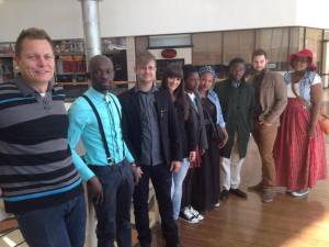 After an interview with Supermodels SA about Style Fashion Week Africa with the designers and crew