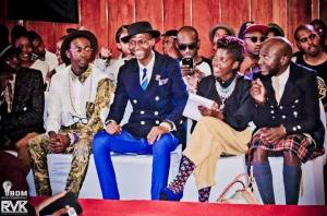 RVK Fashion Week in Pretoria with Tebogo, Katlego and Loux the Vintage Guru rocking a kilt