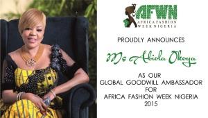 Abiola Okoya Goodwill Ambassador