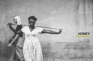 21/10/25 The Honey, a collaborative effort between Rendani Nemakhavhani(Illustrator) and Kgomotso Neto Tleane (Photographer).