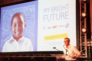 Unilever Executive Vice President, Africa, Bruno Witvoet