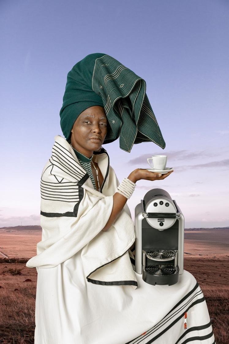Tony Gum_Xhosa Woman - Umama omkhulu_Media